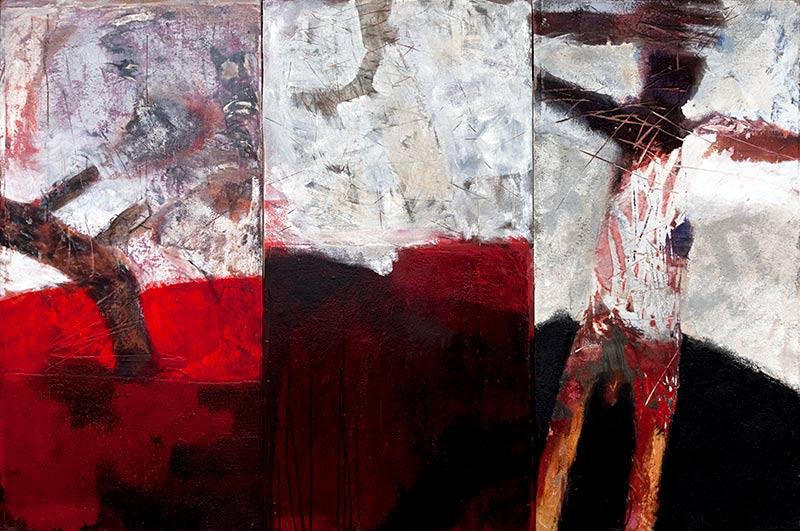 ungewisse zukunft - triptychon von michael edelmann